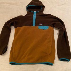 Patagonia Hooded Synchilla fleece. Men's medium